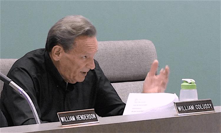 Bridgeville Borough Councilman William Colussy