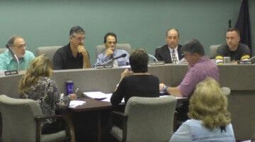Bridgeville Borough Council as seen during its Sept. 12, 2016 meeting.