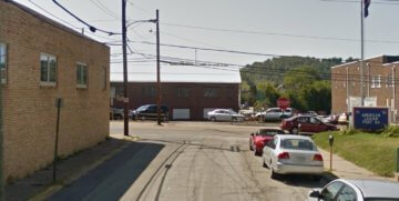 Shady Avenue in Bridgeville, PA.
