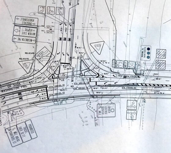 Plans to revamp the intersection of Route 50 and Washington Pike