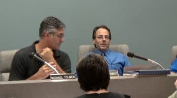 Bridgeville Borough Solicitor Thomas McDermott addresses council during a July 11, 2017 meeting