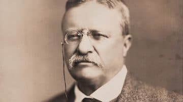 Theodore Roosevelt, pictured in 1918.