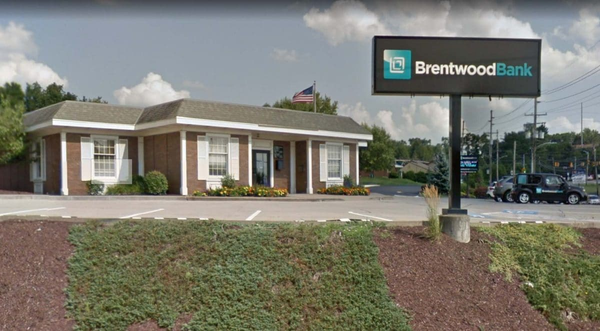 Brentwood Bank's location in McMurray.