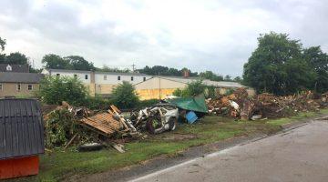 Trash removed from McLaughlin Creek after Bridgeville's June 2018 flood