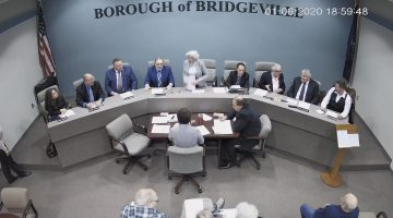 Bridgeville Borough Council: Jan 6, 2020