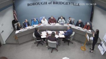 Bridgeville Borough Council: Feb. 10, 2020