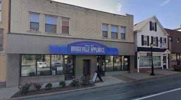 Bridgeville Appliance as seen from Washington Avenue