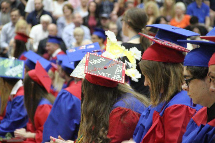 Photo from CV's 2019 graduation ceremoney