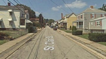St. Clair Street in Bridgeville, PA