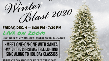 Zoom with Santa at Bridgeville's (Virtual) Winter Blast