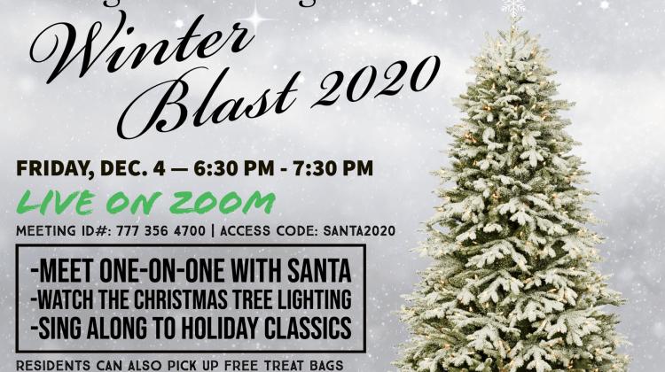 Zoom with Santa at Bridgeville's (Virtual) Winter Blast