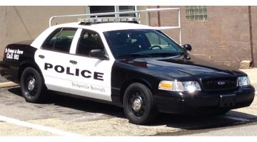 Bridgeville Police Car